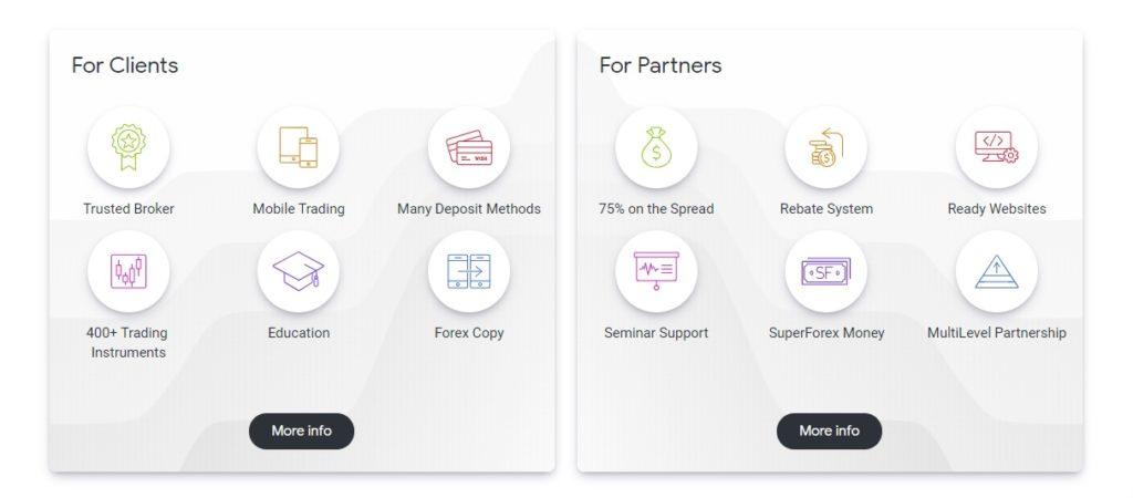 обзор предложения superforex